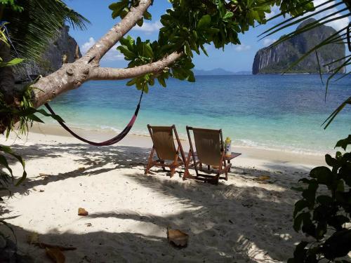 Denise on a Deserted Island